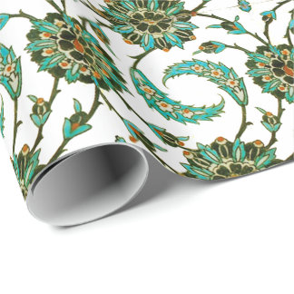 Persian Swirl Wrapping Paper