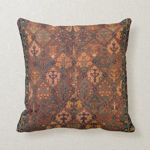 Persian Throw Pillow Zazzle