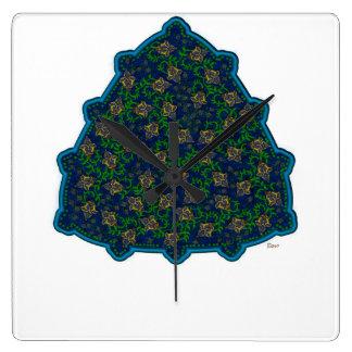 Persian Tile Clock