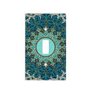 Persian Tile Lightswitch Cover