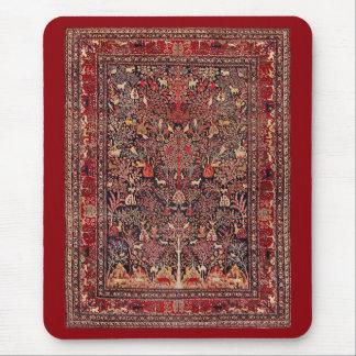 Persian Vintage Antique Carpet Nature Fine Art Mouse Pad