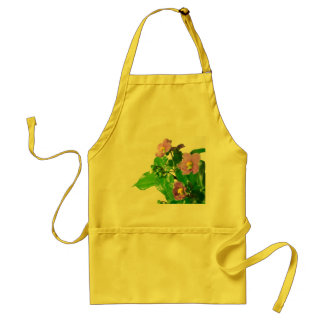 Persian violets adult apron