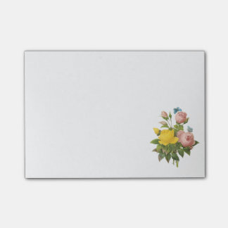 Persian yellow rose, tea rose by Redouté Post-it® Notes