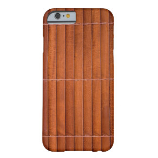 Persiana de madera funda de iPhone 6 barely there