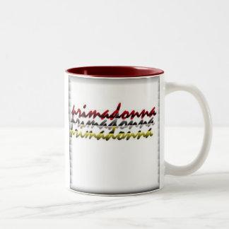 persianas del primadonna taza de dos tonos