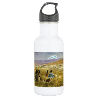 Persians Lunching on the Grass by Edwin Lord Weeks 18oz Water Bottle