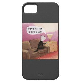Persiga el cono que fecha el caso divertido del iP iPhone 5 Case-Mate Cobertura