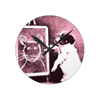 persiga el dibujo qué mira para ser un ratón relojes