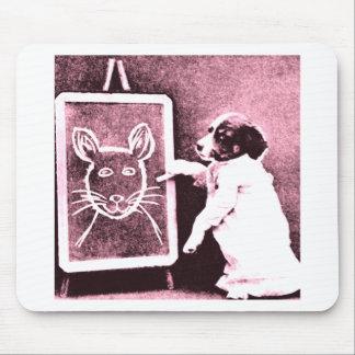 persiga el dibujo qué mira para ser un ratón tapete de ratones