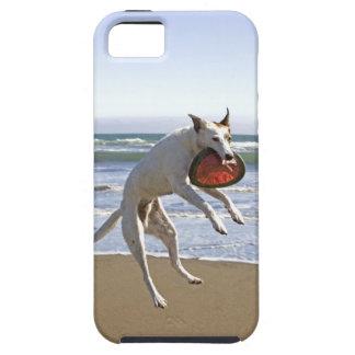 Persiga el salto para coger un disco volador en la iPhone 5 Case-Mate cárcasa