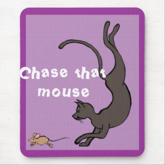 Persiga ese ratón alfombrilla de ratón
