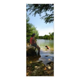 Persiga la observación en el lago ladybird - Austi Fotografía