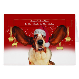 persiga la tarjeta del día de fiesta del navidad d