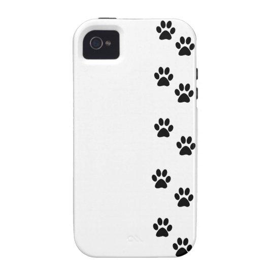 Persiga las patas, rastros, Pata-impresiones - Carcasa Vibe iPhone 4