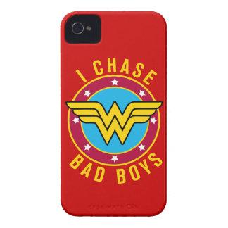 Persigo a chicos malos iPhone 4 Case-Mate carcasas