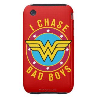Persigo a chicos malos tough iPhone 3 cárcasa