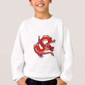 Persiguiendo el dragón (rojo) polera