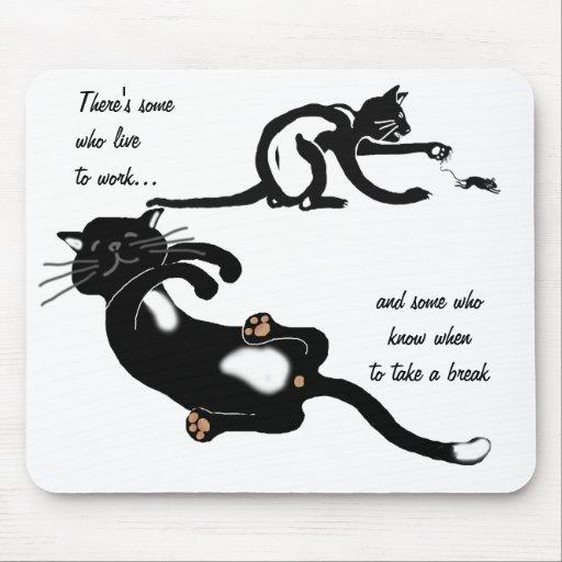 ¿Persiguiendo ese ratón todo el día? Mouse Pads