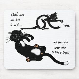 ¿Persiguiendo ese ratón todo el día? Alfombrilla De Raton