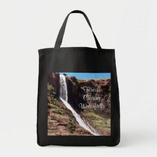 Persiguiendo las cascadas 1 bolso bolsa lienzo