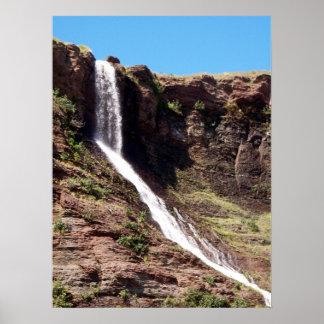 Persiguiendo las cascadas 1 poster