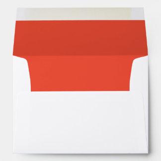 Persimmon A7 Felt Envelope
