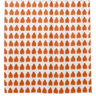 Persimmon Asian Moods Buddah Boys Shower Curtain