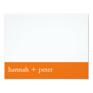Persimmon Banner :: RSVP Card