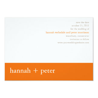 Persimmon Banner :: Save the Date Announcement