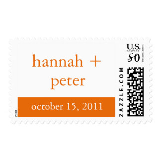 Persimmon Banner :: Save the Date Stamp