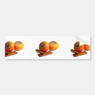 Persimmon Cinnamon Bumper Sticker