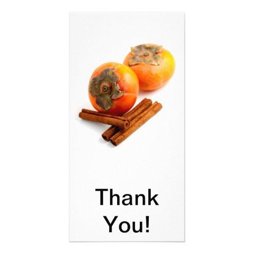 Persimmon Cinnamon Card