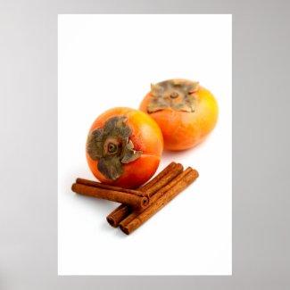 Persimmon Cinnamon Print
