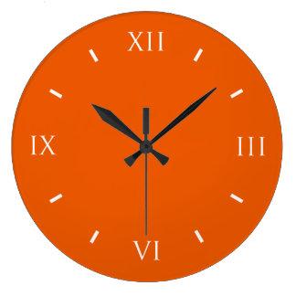 Persimmon Cool Colorful Clocks