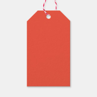 Persimmon Pack Of Gift Tags