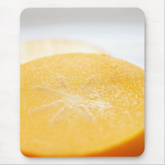 Persimmon Slice Mouse Pad