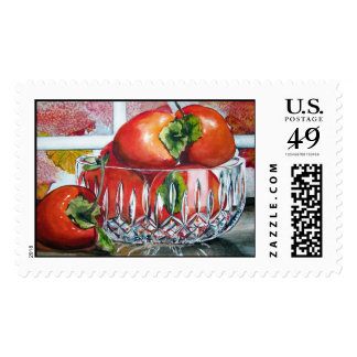 Persimmons Postage Stamp