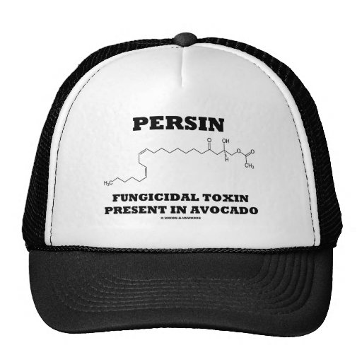 Persin Fungicidal Toxin Present In Avocado Hat