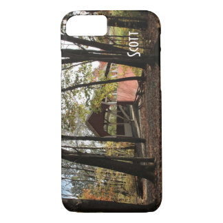 Persionalize Old Covered Bridge. iPhone 8/7 Case