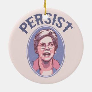 Persist - Warren Ceramic Ornament