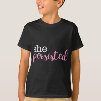persist-white-pink T-Shirt
