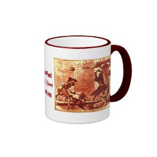 Persistant Door 2 Door Salesmen Ringer Coffee Mug