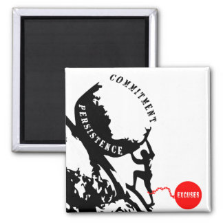 Persistence 2 Inch Square Magnet