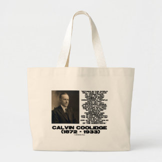 Persistence Determination Omnipotent Coolidge Large Tote Bag