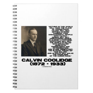 Persistence Determination Omnipotent Coolidge Notebook