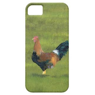 Persistent Alarm Clock - Rooster Farm Design iPhone 5 Case