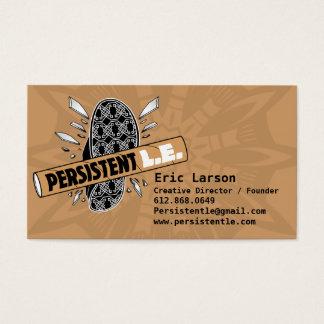 Persistent LE Company Car(d) Business Card