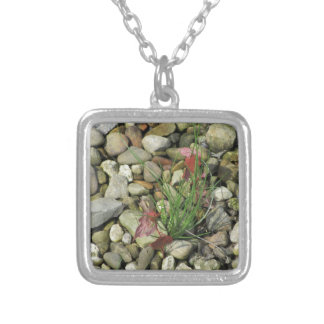 Persistent vs. Rocky Silver Plated Necklace