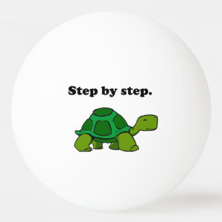 Persistent Winning Tortoise Turtle Step by Step Ping-Pong Ball