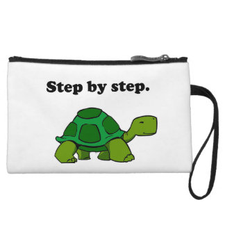 Persistent Winning Tortoise Turtle Step by Step Wristlet